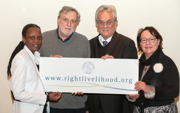 Right Livelihood Award 2015 Stockholm 12 / 2015 Photo: Wolfgang Schmidt