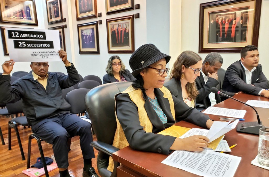 Public Hearing before the Inter-American Court. Date: March 2019 in Costa Rica.